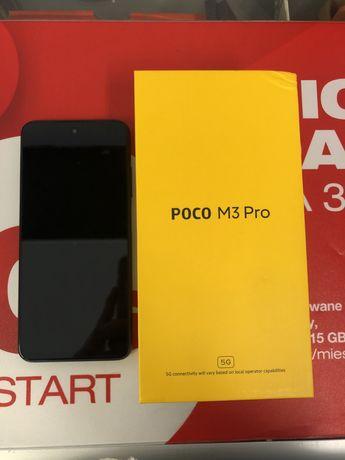 POCO M3 Pro 5G 64/4GB Black Jak Nowy Gwarancja 23Msc. Sklep