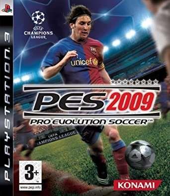 Jogo PES 2009 - Playstation 3