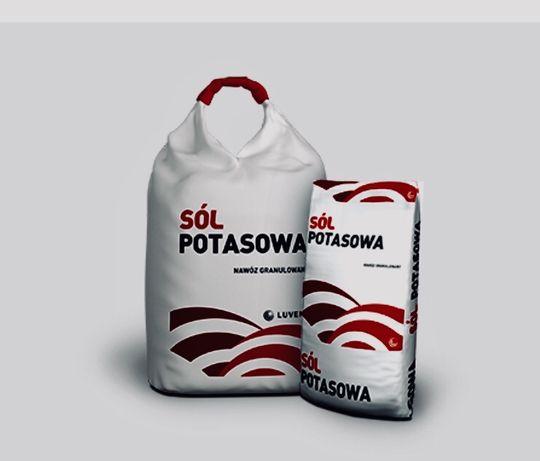 Sól potasowa 60K z Luveny
