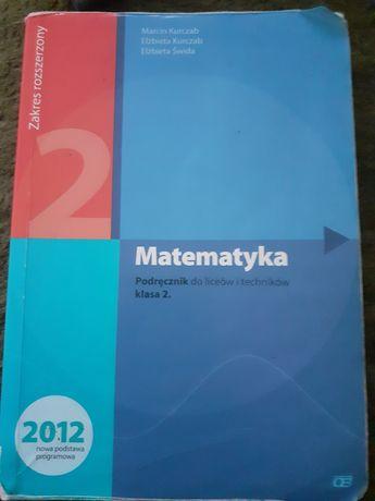 Matematyka 2, OE Pazdro, podręcznik