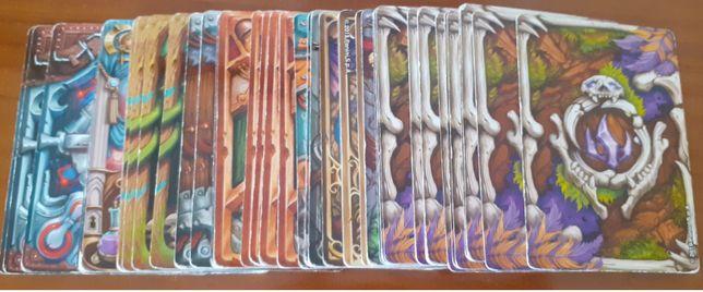 52 cartas diferentes fantasy riders