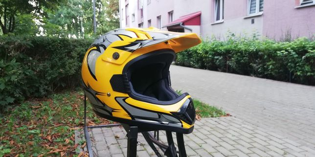 Kask full face can / dh, dirt, cross, rower, downhill, freeride, motor