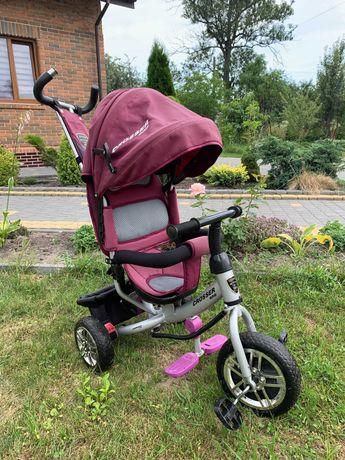 детский велосипед-каталка Crosser Дитячий велосипед для дівчинки