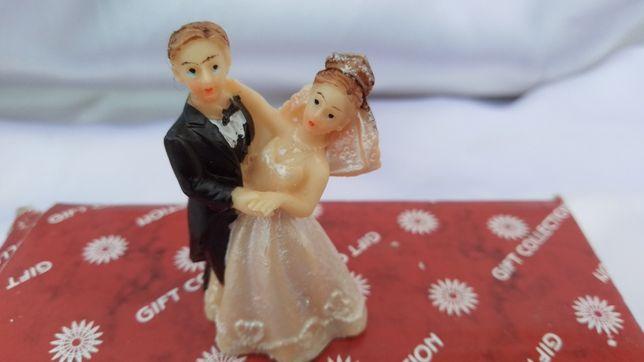 """Статуэтка на свадебный торт """"Жених и невеста"""", 5 см"""