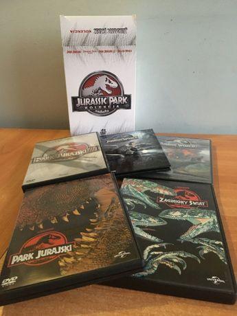 Jurassic Park / World - Kolekcja - 5 Filmów - DVD - Lektor / Napisy PL
