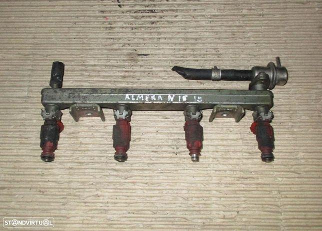 Regua e injetores para Nissan Almera n16 1.5i (2001) 0280155940 16600-9F600