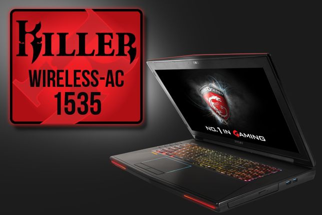 Mocna karta sieciowa AC1535 Killer wi-fi do laptopa Dell HP MSI Asus