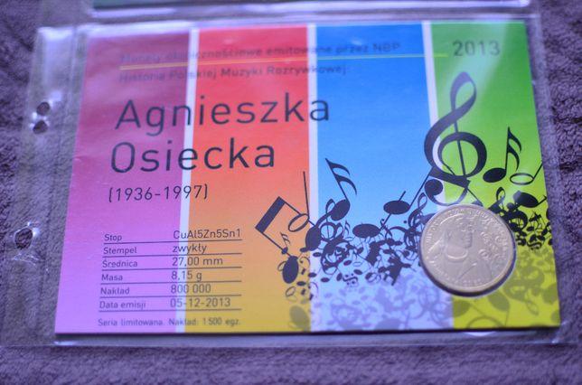 2zł Blister Agnieszka Osiecka