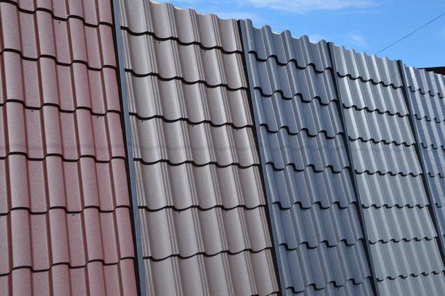 Металочерепиця Польща товщина 0,5, різні комплектуючі для даху.