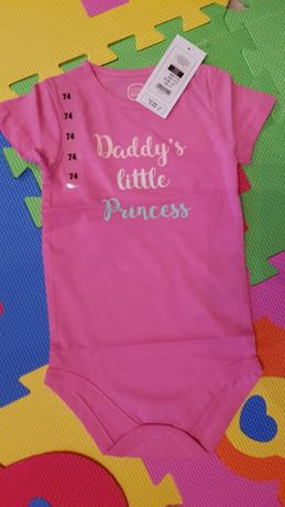 Body Daddys Little princess rozmiar 74