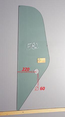 Bobcat t 2556 , Massey Ferguson 8925 ładowarka Szyba lewa za drzwiami