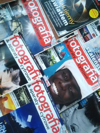 19sztuk czasopisma foto Fotografia aparaty cyfrowe r2006 r2012