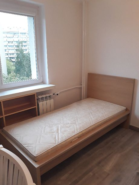 Łóżko 90x200 Malm. 2019 r. stan. B.dobry