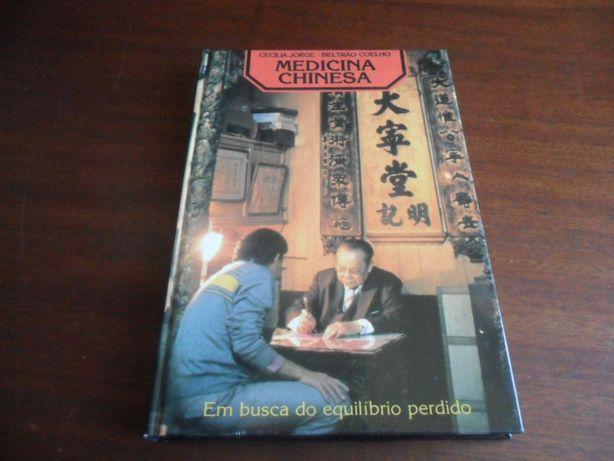"""""""Medicina Chinesa"""" Em Busca do Equilíbrio Perdido de Cecília Jorge e B"""