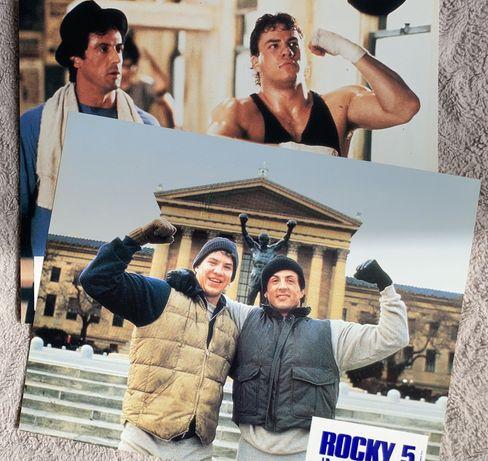 Rocky V - Stallone  - x2 zdjęcia  promocyjne - kadry kinowe