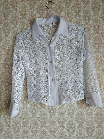 Ажурные блузочки