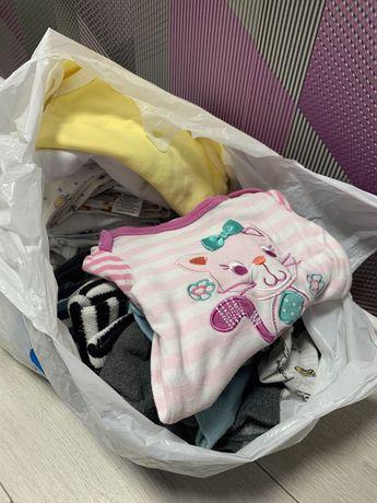 Продам пакет детских вещей 0-3 месяца