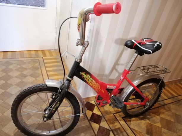 Детский велосипед Молния Маквин 3-8лет