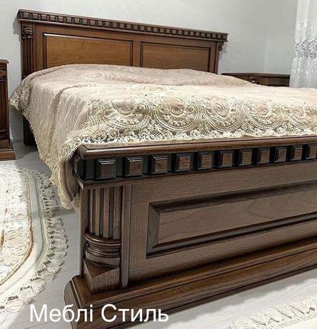Спальня з масиву /Дубова спальня / Ліжко з дуба