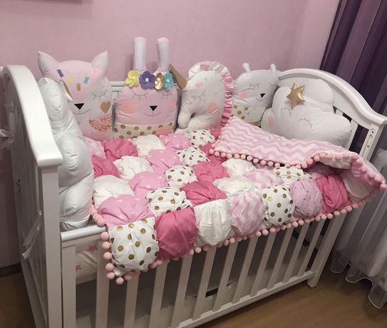 Ліжечко дитяче Twins I love