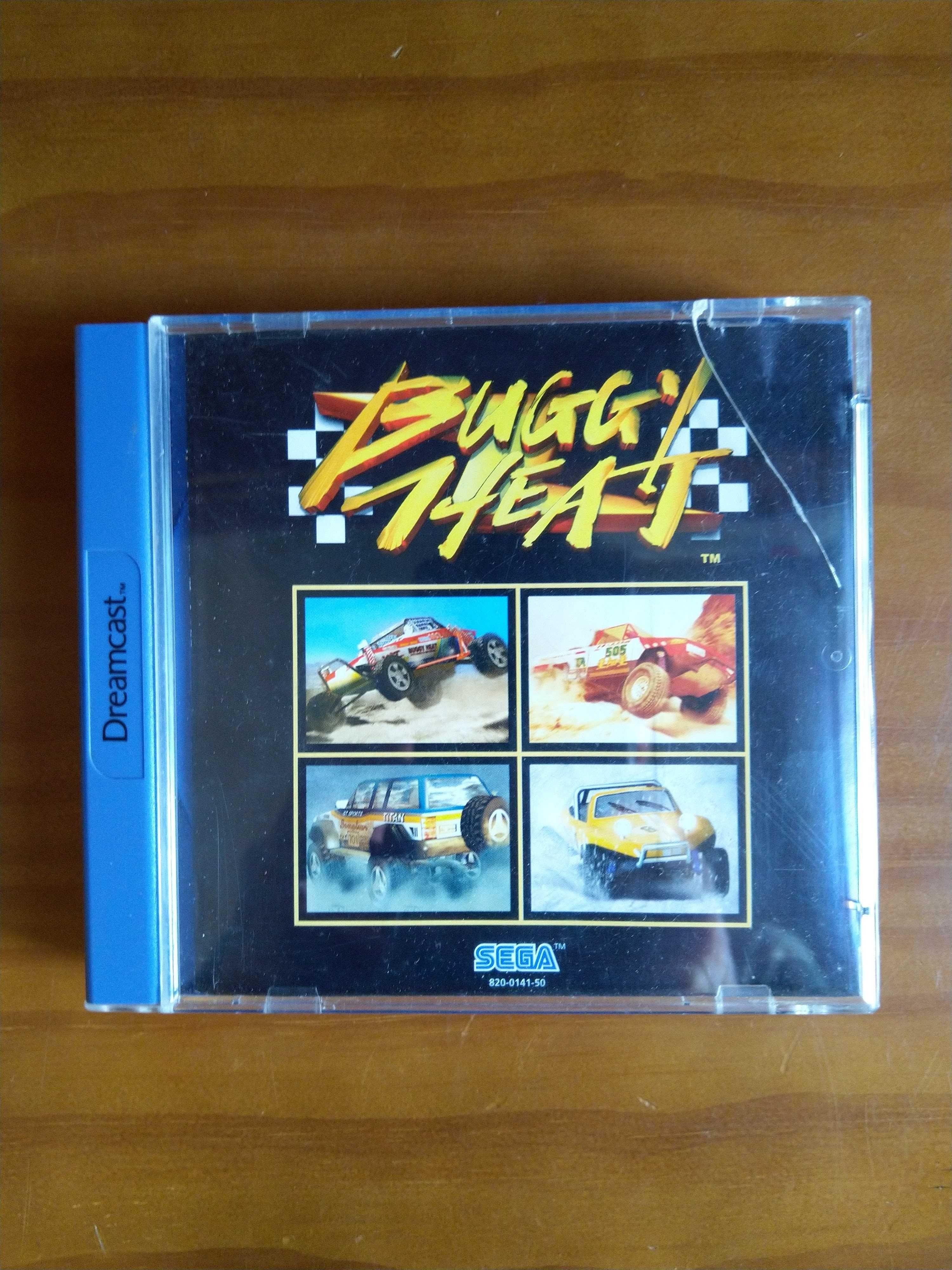 Jogo Buggy Heat - Sega Dreamcast