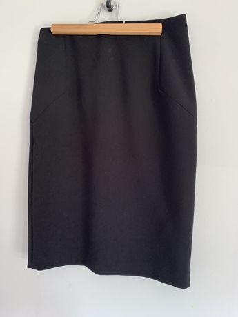 Czarna ołówkowa spódnica rozmiar XS
