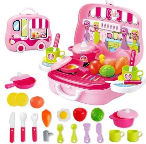 Игрушечная кухня,детская кухня,кухонька,набор посудки,детская посудка