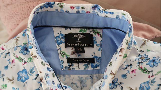 Nietuzinkowa męska koszula