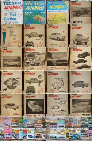 Revistas Técnicas Automóvel - RTA Antigas