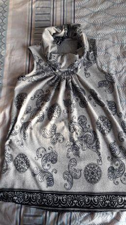 Платье теплое короткое