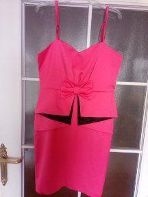 różowa sukienka w rozmiarze L