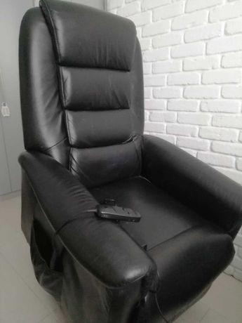 Fotel elektryczny rozkładany relaksujący na pilota