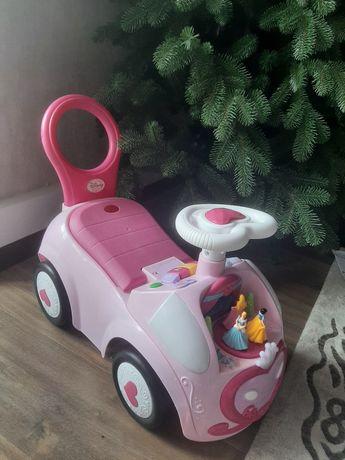 Машинка толокар kiddieland для маленьких принцесс