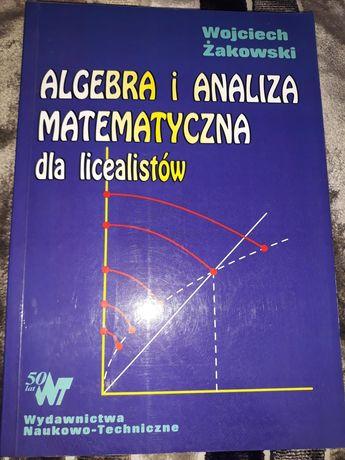 Algebra i analiza matematyczna