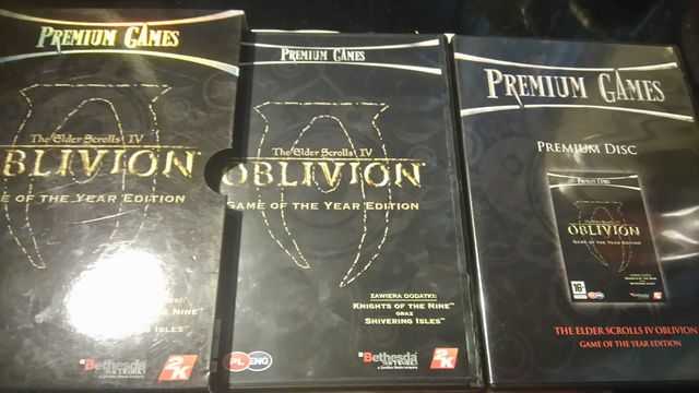 Oblivion-the Elder Scrolls 4-Game of the year Edition pc,pl