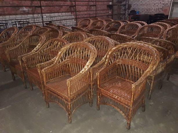 Плетенные кресла из лозы