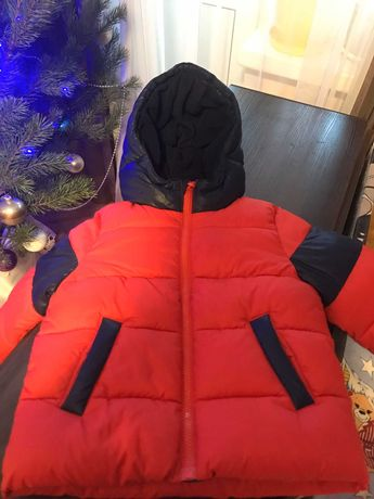 Детская зимняя куртка на 2 года