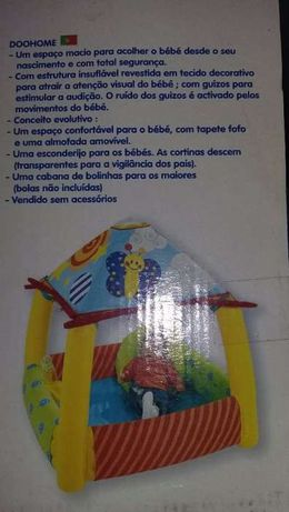 Tenda para bebé Colorida