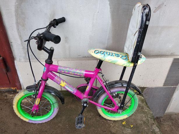 Дитячий детский велосипед Rambo;) Безкамерні колеса. Легко їде.