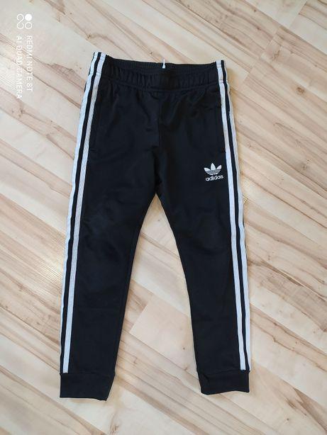 Oryginalne spodnie ADIDAS rozm. 128 - Czarne