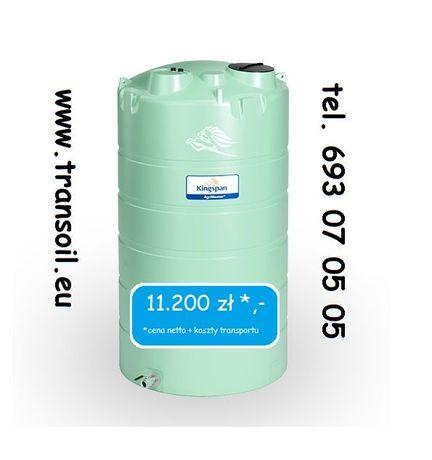 AgriMaster 22.000 l Kingspan, zbiornik na nawozy płynne, RSM, ASL