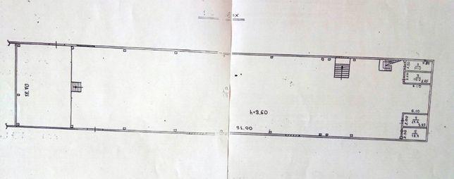 Оренда цеху 1685 кв. м: вул. Зелена