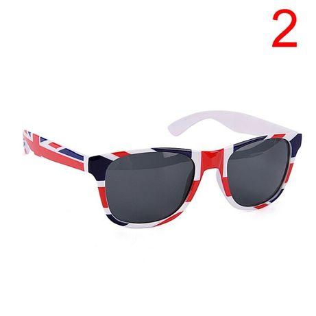 okulary słoneczne przeciwsłoneczne punk flaga anglia wielka brytania