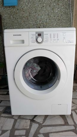 Máquina lavar roupa Samsung 7 KG totalmente restaurada