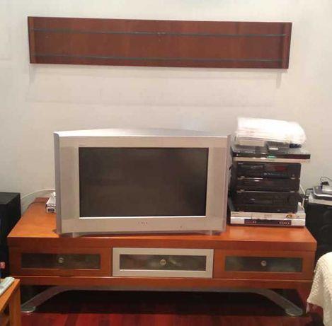 Móvel TV + Prateleira + Mesa de Centro