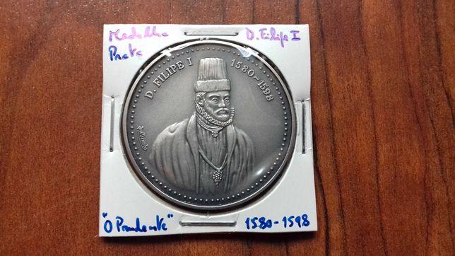 Medalha de Prata de D. Filipe I, O Prudente