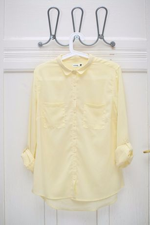 Koszula żółta Sinsay S