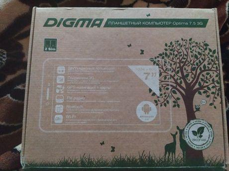 Продам планшет Digma optima 7.5 3G новый по сути