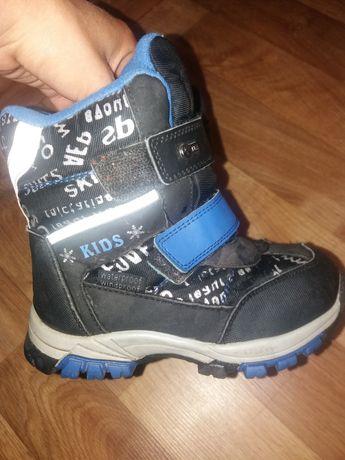 Термо ботинки зима 17см