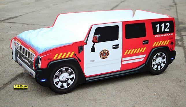 Кровать пожарная машина Diego